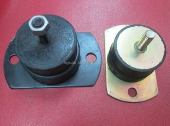 Vibration absorb engine mount rubber vibration mount for Vibration dampening motor mounts