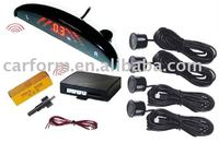 Wireless LED Display Parking sensor With 4 Sensors