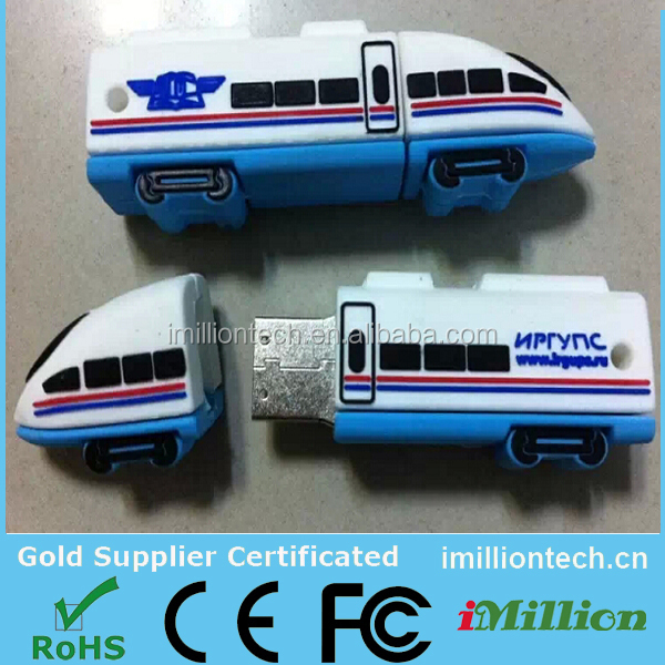 Custom Nevs Train USB Drive, Rail way usb high speed trains usb memory pens, memoire Flash de train d usb-Disque 8gb