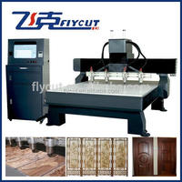New design door making cnc router/wood cnc router engraving machine