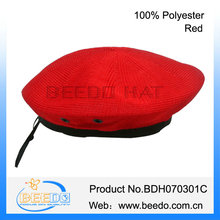 Fashion polyester cheap berets for sale