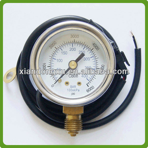 Natural Gas Vehicles Pressure Meter LPG Kit for Car(ISO9001:2008 factory)