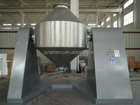 Double-cone rotary vacuum powder granule dryer