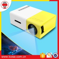 Lcose LED Personal Cinema Home Used Multimedia LCD Mini Portable Projector