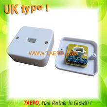 UK type telephone terminal box