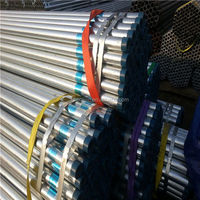 Galvanized steel pipe with Thread 1 2 inch 1 1/4 inch 4 inch