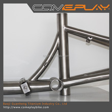 professional titanium folding bike frame with great price