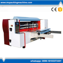 Carton box making machinery corrugated rotary die cutting machine