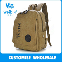 School Style Best Selling Popular Canvas Stylish Backpacks