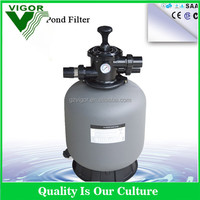swimming pools spa sand filter top mounted filter P350