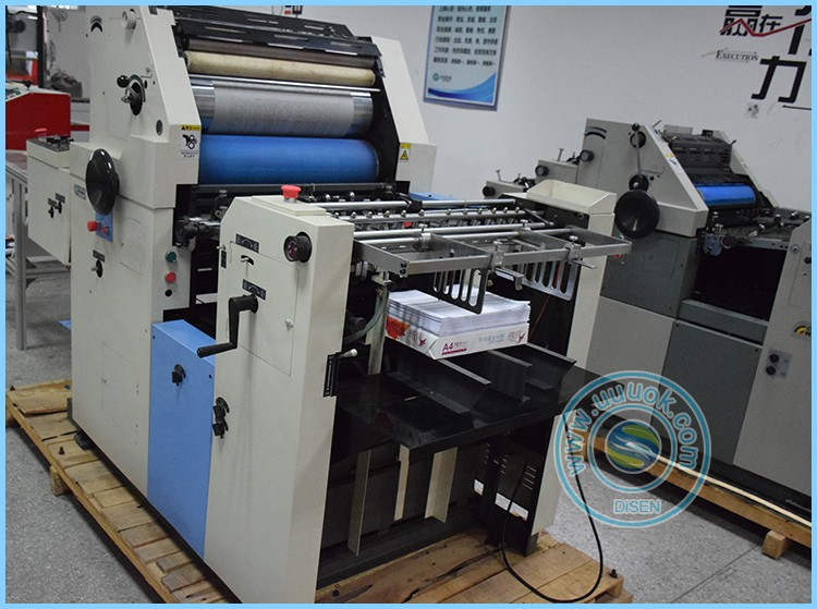 Disen factory outlet high precision single color offset printing machine price list
