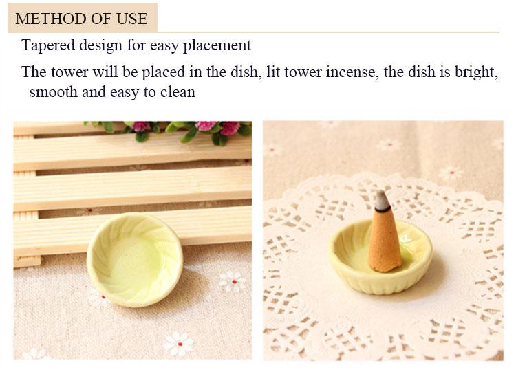 Melhor qualidade torre incenso bobina incenso para uso doméstico