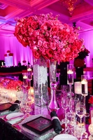 Wholesale glass vases for wedding centerpiece