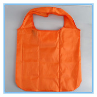 foldable zipper tote bag,folded nylon bag,folded nylon shopping bag