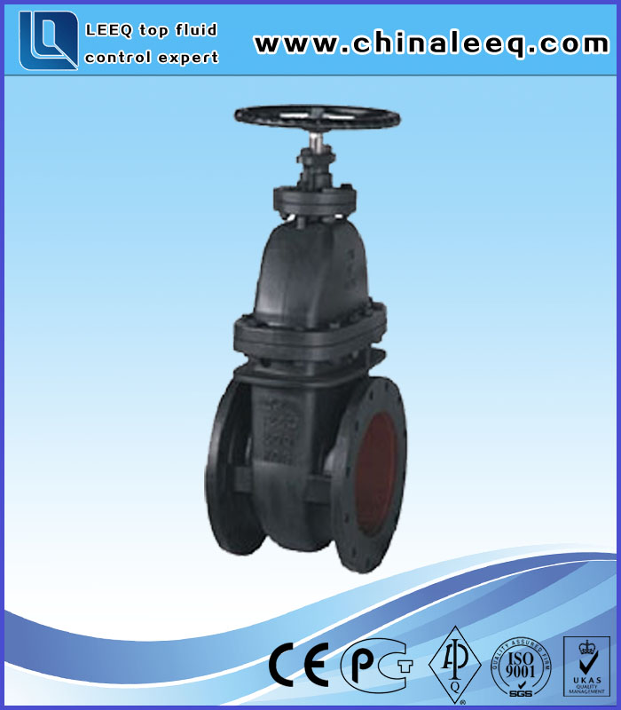 MSS SP-70 CLASS 125 NRS CAST IRON GATE VALVE