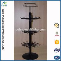 top quality spinning counter wire rack display metal