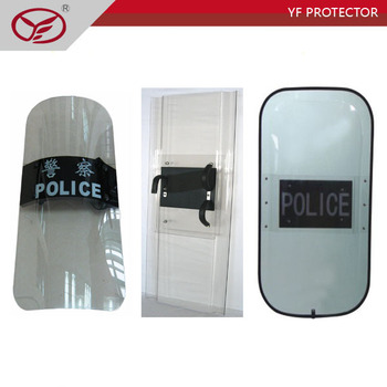 chinese manufactory 3.5mm anti riot shield