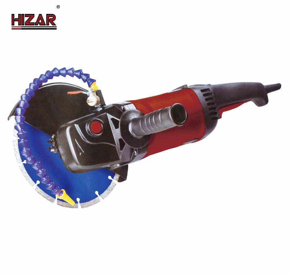 HIZAR H230C Chinese power tools 230mm electric mini water angle grinder machine