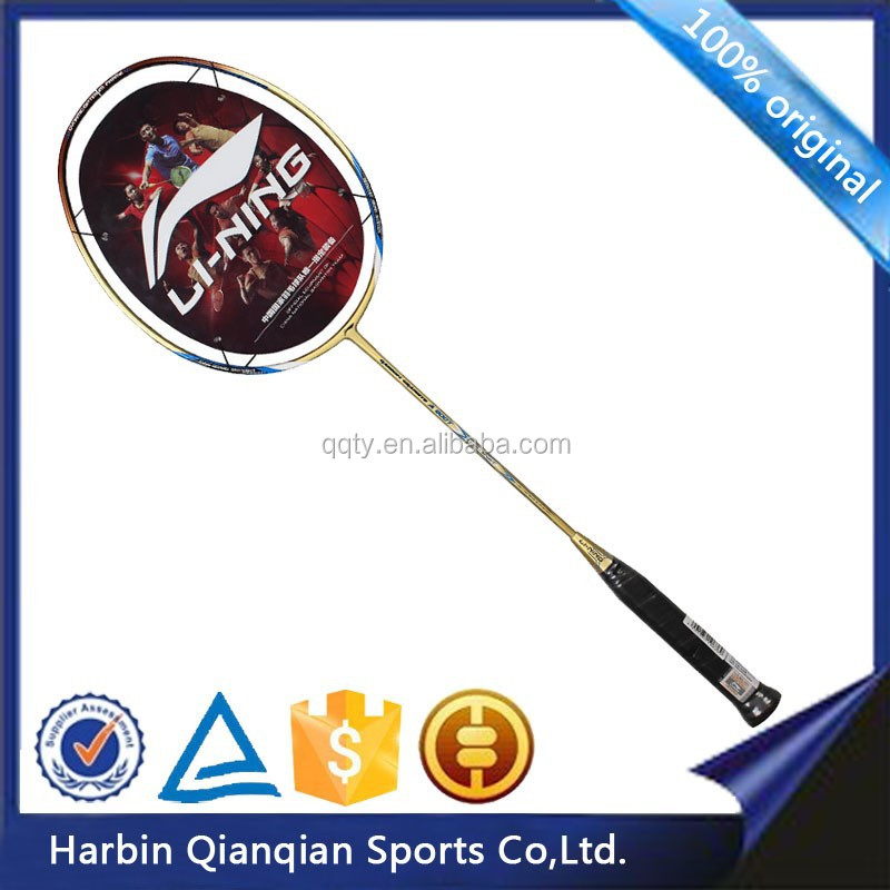 AYPH 184-1 original Lining brand gold color carbon badminton racket