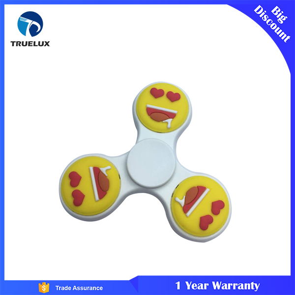 Emoji Silicone Finger Gyro Anti Stress Reliever Color EDC Hand Spinner