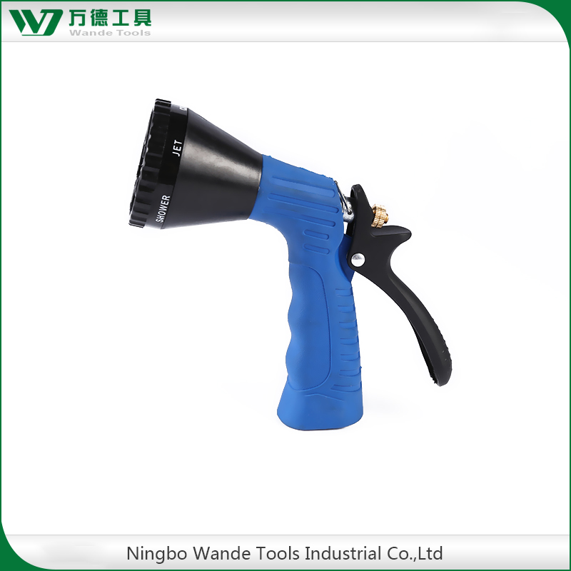 OEM high quality 6 Pattern agricultural spray gun garden water jet nozzle