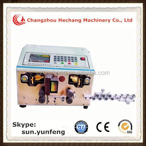 High Quality HC-515D 10 sqmm electrical wire stripping cutting machine