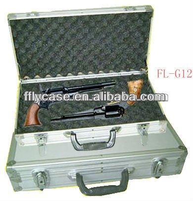 selling aluminum case two component spray gun case with lockable