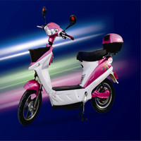 Factory direct supply 48v 500w electric motorcycle hangzhou scooter with pedals