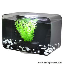 square tabletop acrylic fish tank