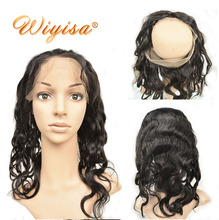 Cheap Wholesale 360 Lace Frontal Unprocessed Virgin Human Hair Wig Cap