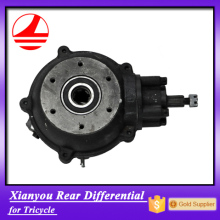 factory export motor tricycle spare parts rear differential gear atv