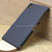 Black hard rubber case cover for Sony Xperia Z2 D6503 a