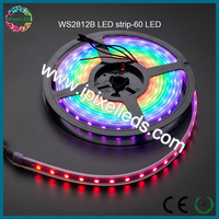 digital RGB LED weatherproof strip - ws2812b 60 LED