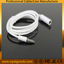 Extension Cord 4-pole 3.5 mm Male to female Stereo Audio Headphone Cable