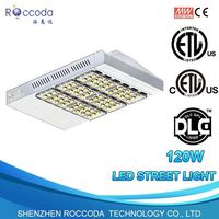 Outdoor 5 Years Warranty Parking Lot Lights Intergrated Photocell LED Street Lights Retrofit Kits