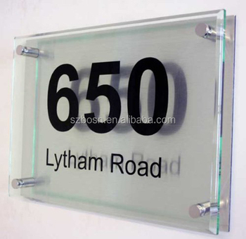 11 x 8 Add Item As Gift, Executive Acrylic Address Plaque
