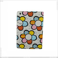 Sun Flower PU Leather Case for iPad Mini-- P-iPDMINICASE043