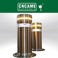 best selling LED stainless steel hydraulic automatic retractable bollards