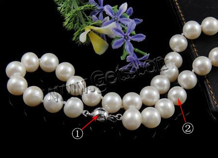 Freshwater Pearl Round 12mm Round Pearl Necklace 387895
