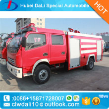 Fire truck factory direct sale! Dongfeng little DLK 2.5T water tank fire fighting truck / fire fighting engine