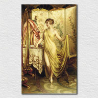Canvas printed famous Impression painting classic sexy nude lady