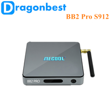 New brand 2017 Mecool BB2 Pro S912 3G 16G tv receiver for home use kodi 17.0 set top box