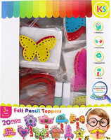 Felt Pencil Topper Party Kit Pack of 20