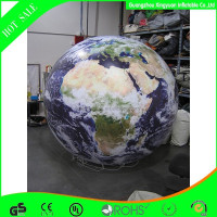 2015 custom inflatable helium balloon earth for parade