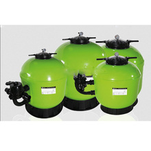 New design industrial bobbin plastic /fiberglass swimming pool sand filter