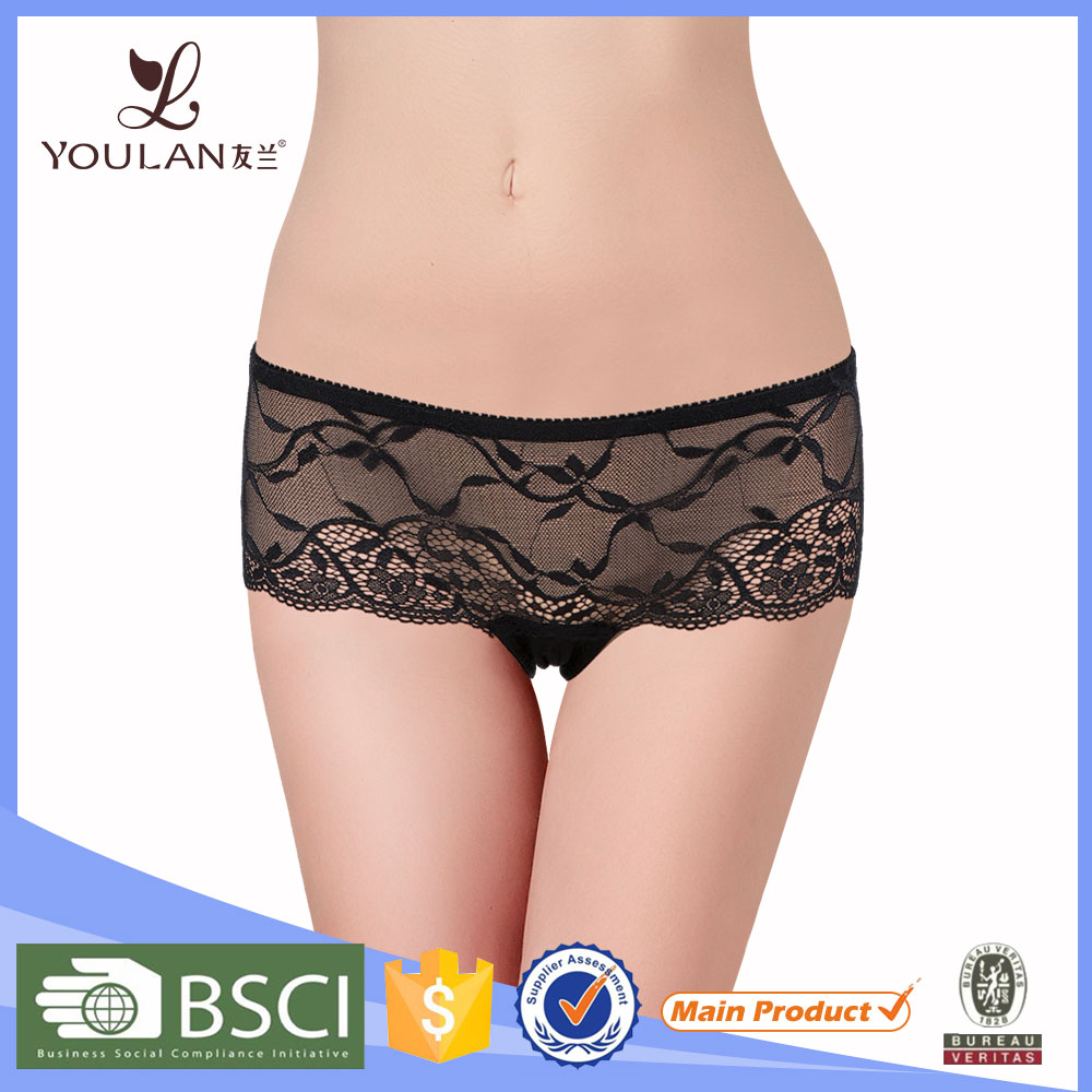 Shuttle Loom Lingerie Import China Lady Panty
