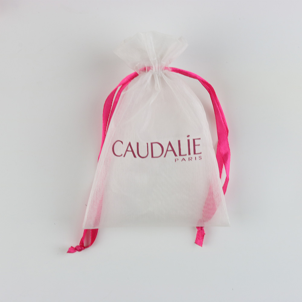 Factory Price personalized organza gift bag, printed logo organza bags