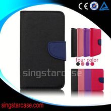 for Blackberry Q10 case cover, wallet leather mobile phone case for Blackberry Q10