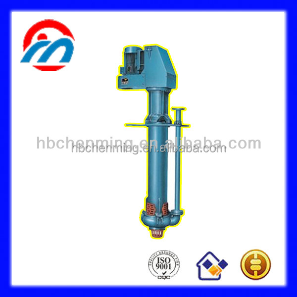 Slurry Vertical semi-open submersible sand dredging pump transfer corrosive chemical
