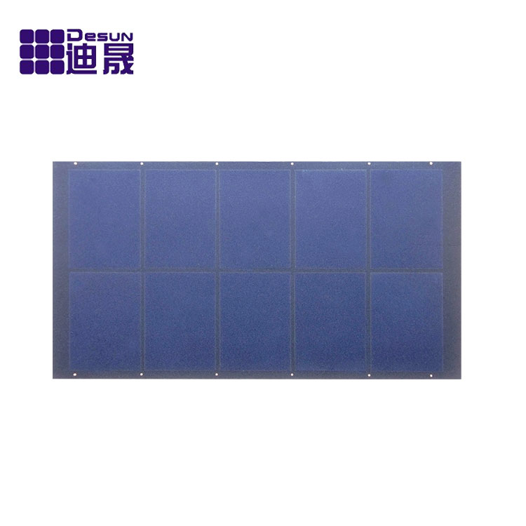 Ultra-thin Ultra-light high efficiency solar panel, round solar panel1.5W-140W